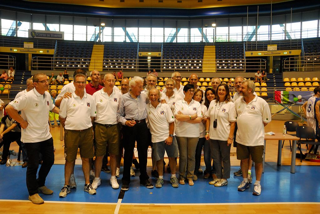 Torino Basket Over Staff